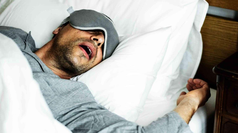 Apnea del sueño: Férula